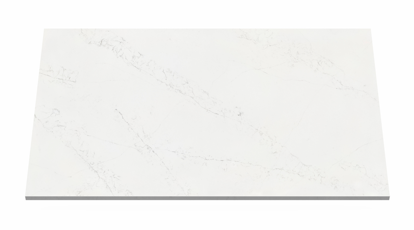 white swan quartz worktop